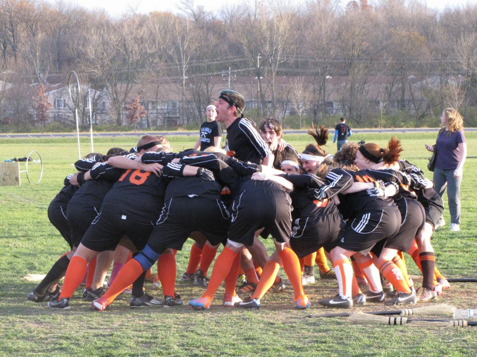 Rising out of the ashes, Bowling Green seems poised to make a name for itself on the international stage. Credit: Loyola University-Chicago Quidditch