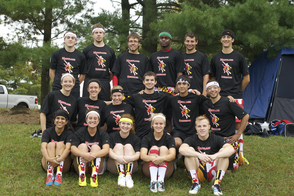 Over the past year, Maryland Quidditch has quickly rose from an average team to an elite powerhouse of the Mid-Atlantic Region. Credit: Deanna Edmunds