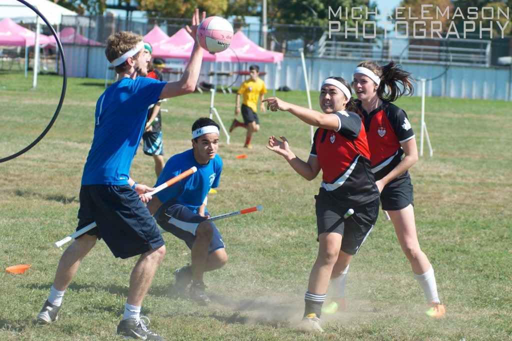 McGill came up short in its biggest games at the MQC/SNEQC Invitational, calling into question the state of Canadian quidditch. Credit: Michael Mason/IQA Staff