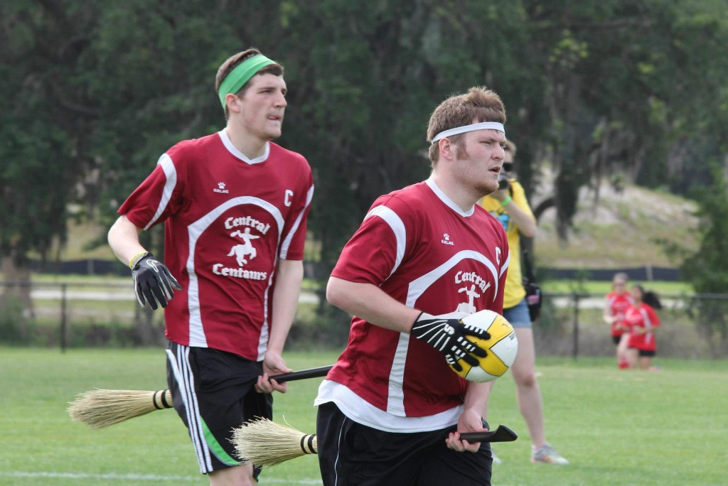 Coming off a huge win against Michigan State, Central Michigan will look to make a name for itself in the lead up to World Cup. Credit: CMU Quidditch